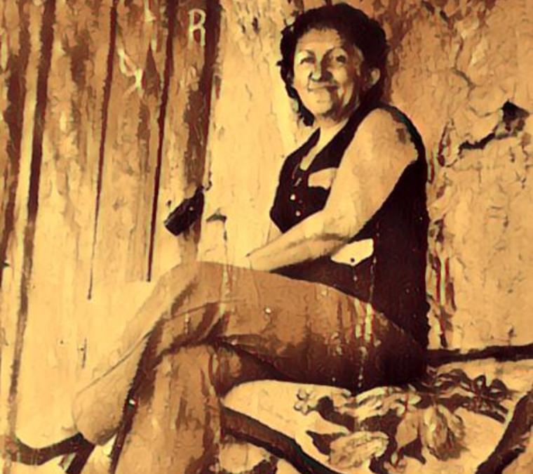 Rosalía, mujer de casa de puertas abiertas